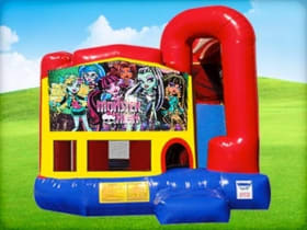 4in1 Monster High Moonwalk w/ Wet or Dry Slide