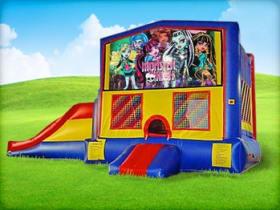 3in1 Monster High Moonwalk w/ Wet or Dry Slide