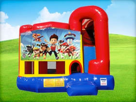 4in1 Paw Patrol Bounce House for Rent