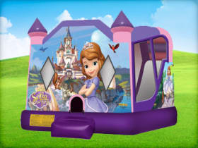 sofia the first party bounce house