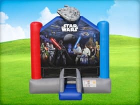 13 x 13 Star Wars Bounce House