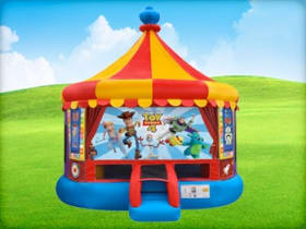 Toy Story 4 Carousel Bounce House
