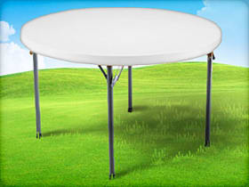 5ft Round Adult Table