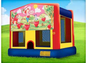 15 x 15 Strawberry Shortcake Bounce House