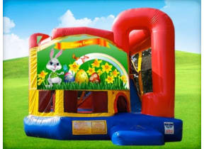 Easter 4in1 Combo w/ Wet or Dry Slide