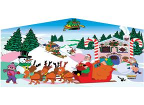 13 x 13 Christmas Banner