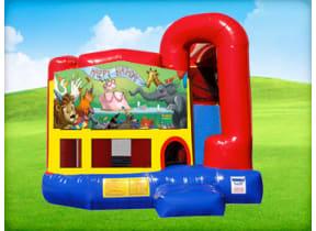 Happy Birthday Animal 4in1 Combo w/ Wet or Dry Slide