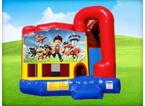 4in1 Paw Patrol Bounce House w/ Wet or Dry Slide