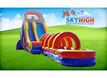 Giant Inflatable Water Slide Rental