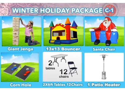 Christmas Party Package Rental