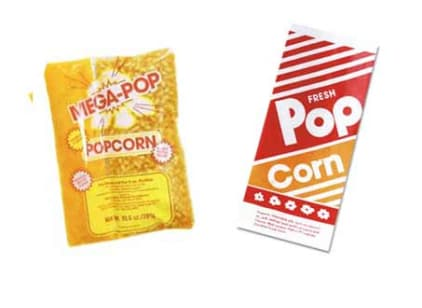 Popcorn Supplies and Butter