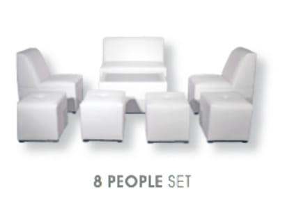 8 person luxury furniture rental