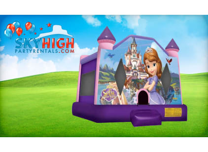 Sophia The First Bounce House combo