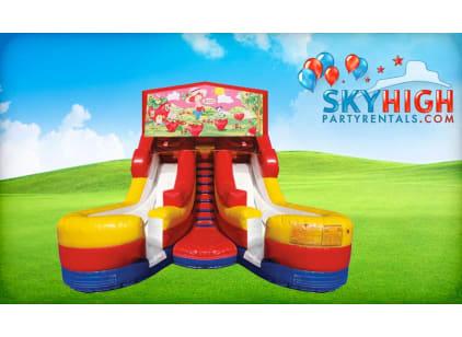 Girl Themed Strawberry Shortcake Water Slide