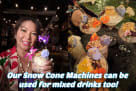 Snow Cone Machine Rentals for Mixed Drinks Houston