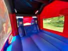 Spider Man Bounce House Slide