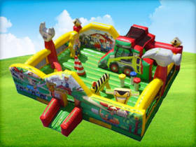 Construction Kids Party Bounce House