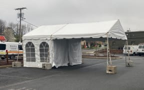 10x30 One Lane Drive Through Tent