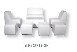 8 Person Lounge Furniture Set