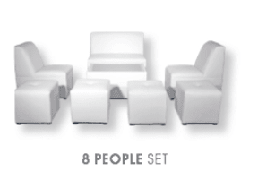 8 Person Lounge Furniture Set