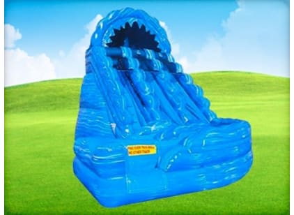 18ft Double Lane Curve Water Slide
