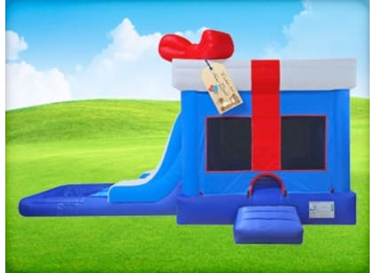 Big Slide with Pool