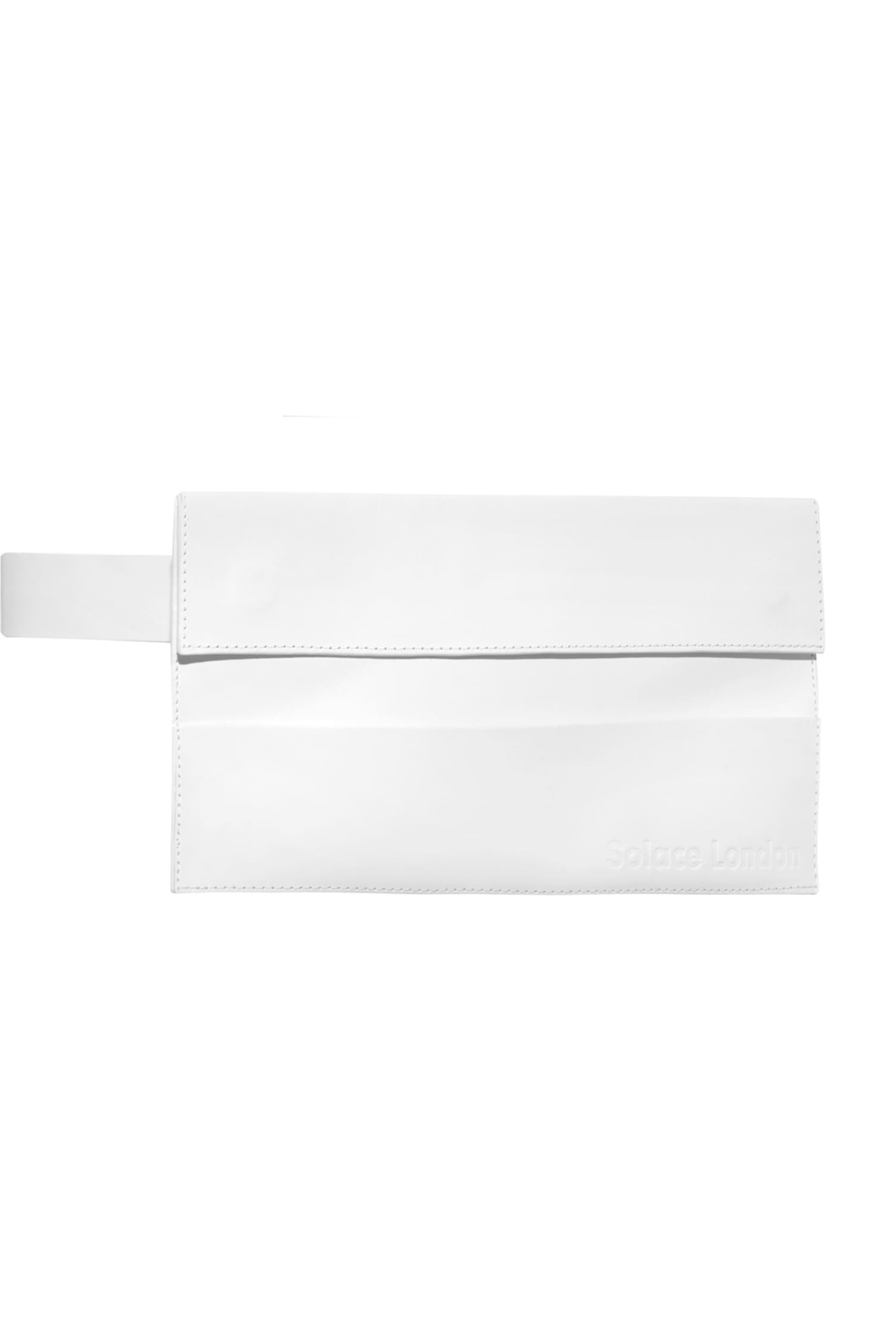 Sutton Envelope Belt Bag White
