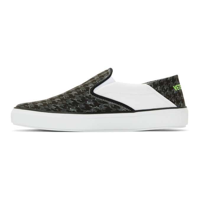 Vetements Black & Grey Babouche Sneakers TaRtIuU9