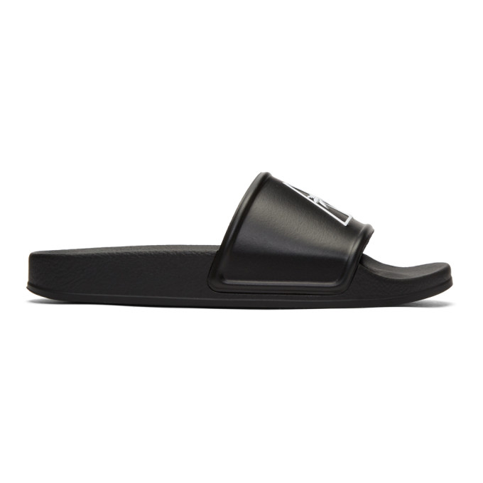 Palm Angels Black Palma Pool Slides
