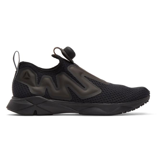 Reebok Classics Black Pump 5bfNQbLzlm Tape Sneakers PlJPm