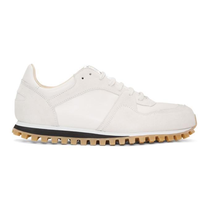 Marathon Trail Suede And Mesh Sneakers - BlueSpalwart q06G8kij