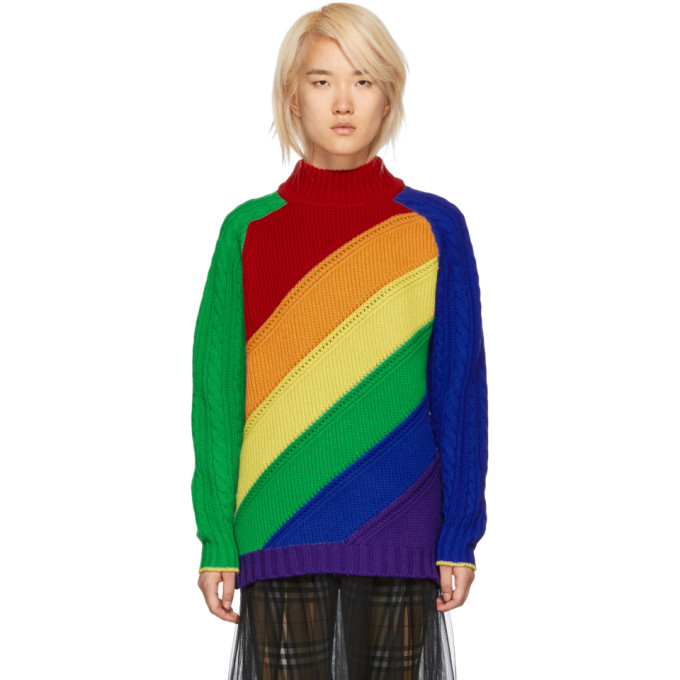 Rainbow Pull Multicolore Multicolore Pull Burberry Burberry Rainbow rCoWdeQxBE