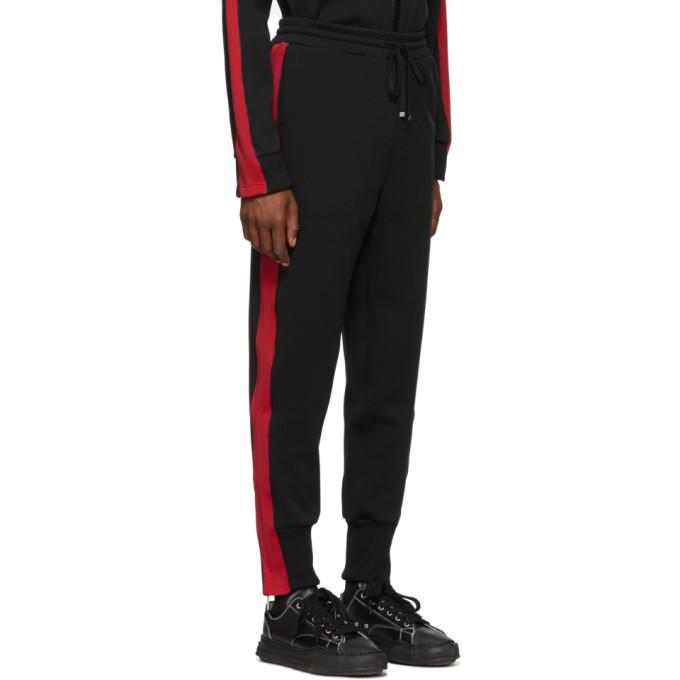 Pantalon Miharayasuhiro Et Stripe Survêtement Rouge Side De Noir 5Lc4q3RAj