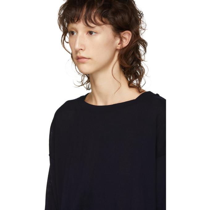 En Boatneck T Marine Laine Chimala shirt Big Bleu WD9HIbEeY2