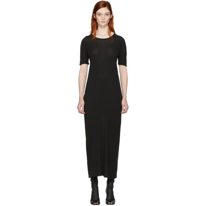 BORIS BIDJAN SABERI Boris Bidjan Saberi Black Mid Dress in C4 Black
