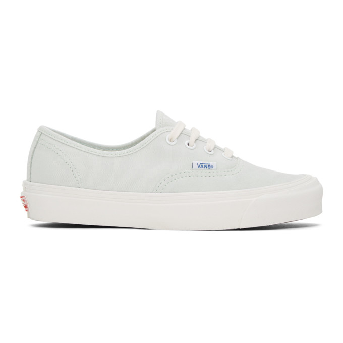 Green Og Authentic Lx Sneakers by Vans