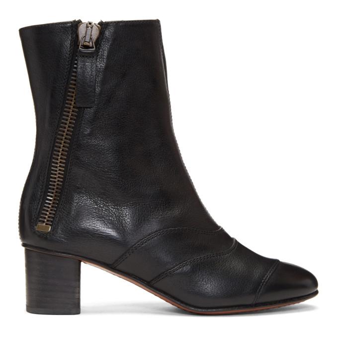 Black Lexie Boots by ChloÉ