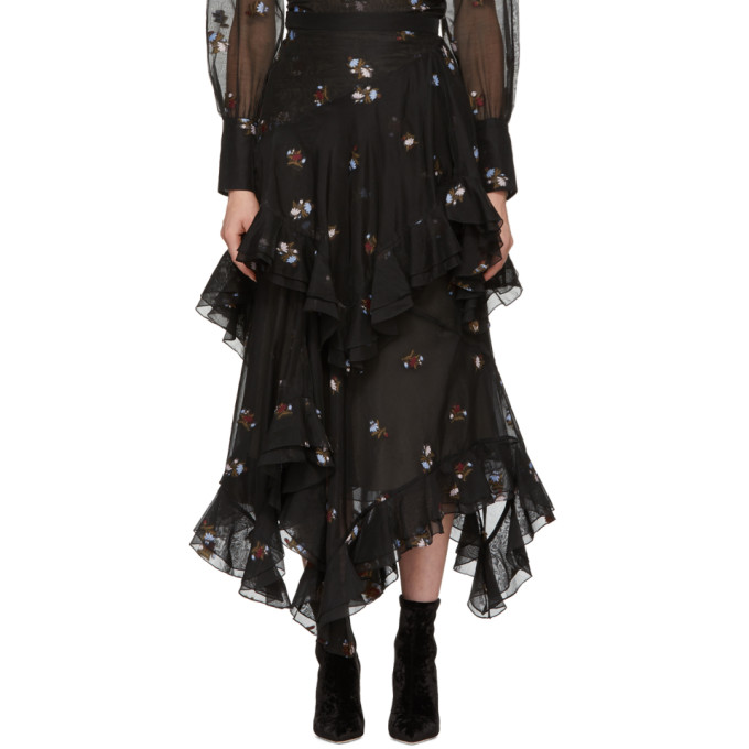 Black Elsa Skirt by Erdem