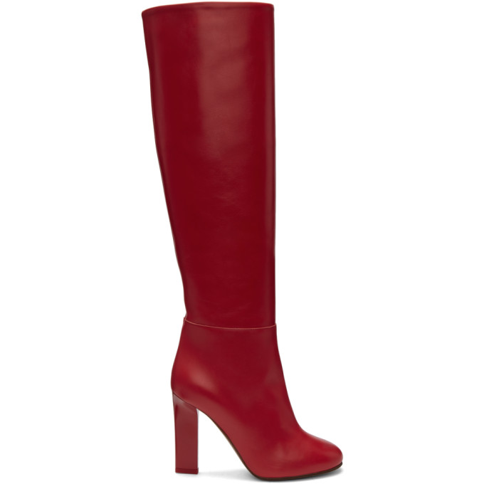 Victoria Beckham Leather Tall Boots