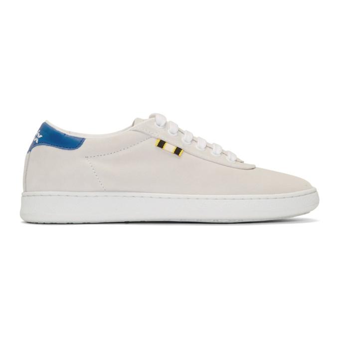 APRIX Aprix Grey Apr-002 Sneakers in White/Royal