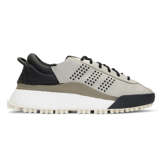 Adidas Originals By Alexander Wang Suedes Grey AW Hike Lo Sneakers