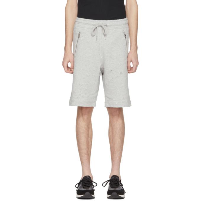 Grey P Bir Distressed Lounge Shorts