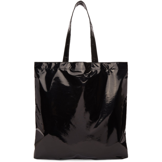 Black Bag Embroidered Coating Tote Doublet