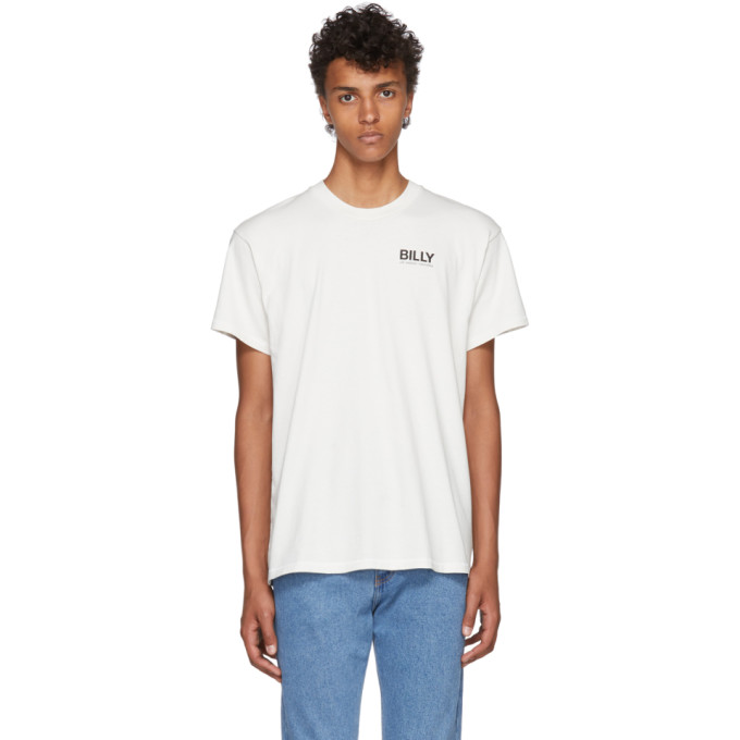 BILLY OFF-WHITE CLASSIC LOGO T-SHIRT