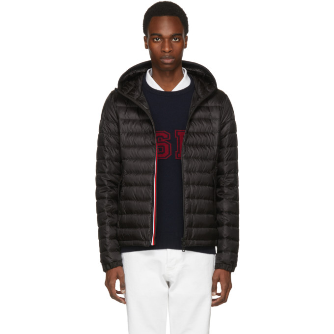 Black Down Morvan Jacket by Moncler