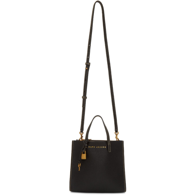 Black And Dark Cherry The Medium Grind T Pocket Tote