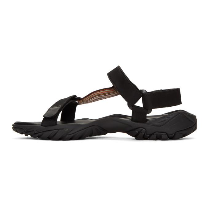 Black Harada Sandals Paul Smith