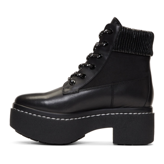 Opening Ceremony Black Syd Hiker Boots