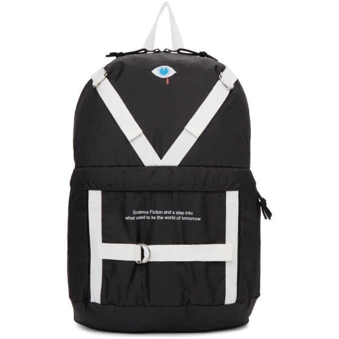 Black Patch Backpack by Undercover