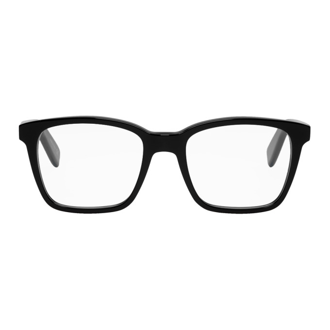 Black Sl 165 Glasses by Saint Laurent